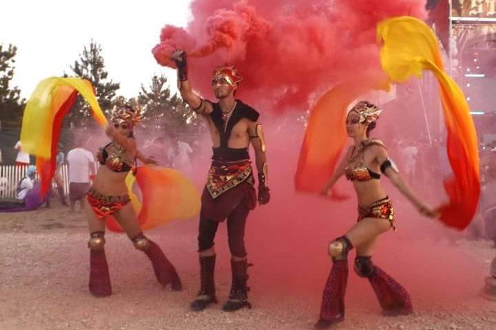 Fire Dancers of Texas