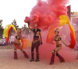 Fire Dancers of Texas